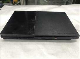 Ps2 Slim 9001 Con 5 Juegos Y Un Control-usada En Buen Estado