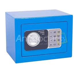 Caja fuerte de seguridad digital entrega inmediata color azul oferta envió contraentrega Bogota
