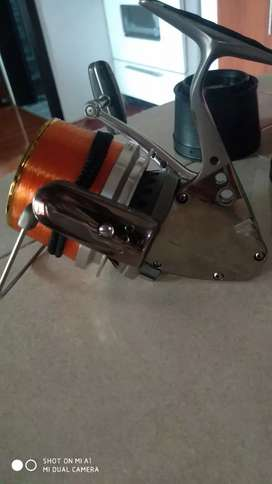Carrete de pesca super Aero titanium