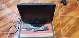 """TV RIVIERA 20"""" LCD WIDESCREEN PERFECTO ESTADO"""