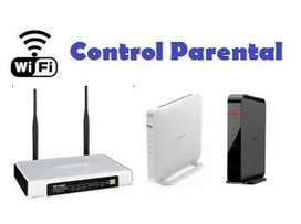 Routers inalambricos Control Parental