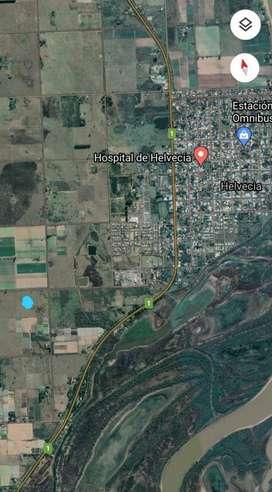 Vendo terreno de 5 HA en Zona Rural Helvecia, prov de Santa Fe a 1200 m de Ruta Prov. N° 1