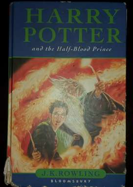 Libro de Harry Potter