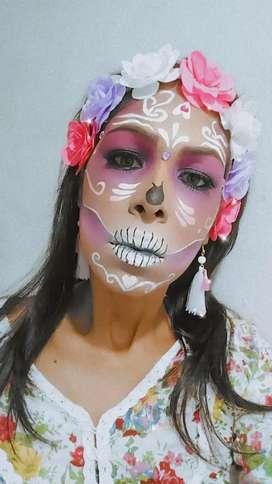 Se hace maquillaje profesional , fantasía y Artístico para halloween