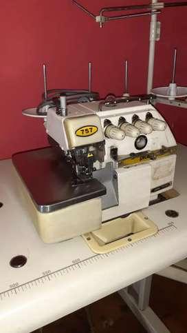 Maquina de coser overlock 5 hilos Protex