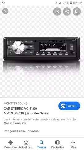 Vendo stereo con usb,aux,radio .