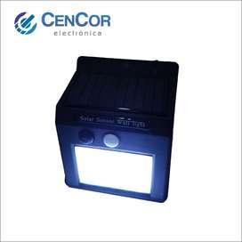 Reflector 20led Solar Con Sensor De Noche Y Movimiento!