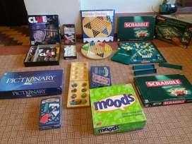 Juegos de mesa varios