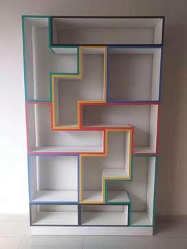 Organizador modelo tetris