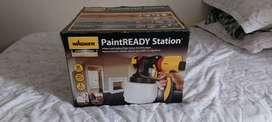 Paint ready station, máquina de pintura en aerosol, acabado profesional.
