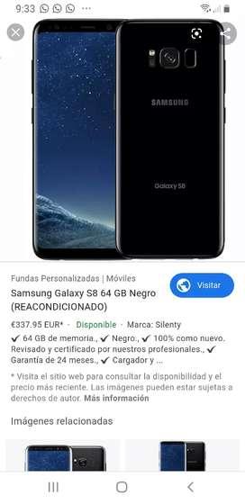 Vendo celular samsung s8 en 750.000 negociable