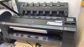 Designjet Plotter Hp T1500 Impresora De Gran Formato