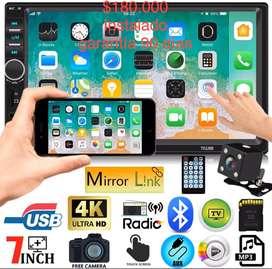 Radio pantalla tactil mirrorlink android y iphone