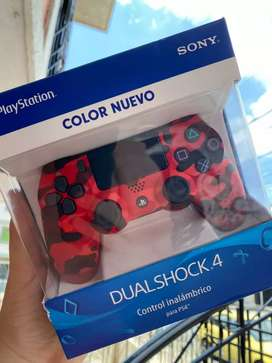 CONTROL NEW COLOR CAMUFLADO ROJO
