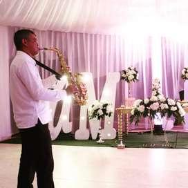 Solista saxofon en vivo