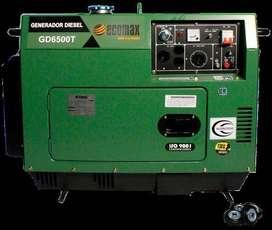 GENERADOR ELECTRICO GD 6500ET-G ENCABINADO DIESEL