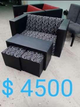 Sofa  Mesa  2 Puff  5990 Bahia Blanca