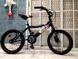 Bicicleta bmx raleigh rodado 16 lista para andar