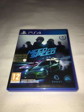 Need For Speed Fisico Usado Ps4 Envío Gratis