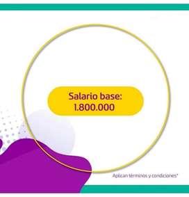 Oferta Laboral Bilingüe ( Solo Bogotá)