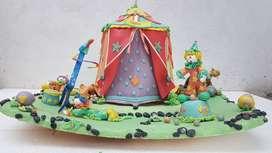 Decoraciones para tortas Infantiles
