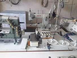 Maquina de coser filetedora o remalladora 5 hilos