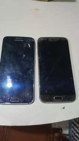 Vendo los dos para repuesto. Samsung s6