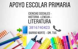 apoyo escolar primaria