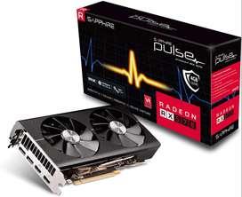 Tarjeta de video AMD rx570 4gb Sapphire nueva y sellada RX 570