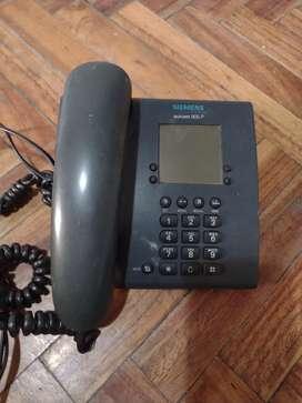 Vendo teléfono Siemens impecable funcionando