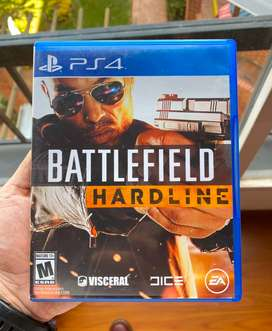 Battlefield Hardline Playstation 4 Ps4 Unico Dueño Casinuevo