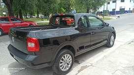 Volkswagen Saveiro GNC hightline cabina extendida año 2011
