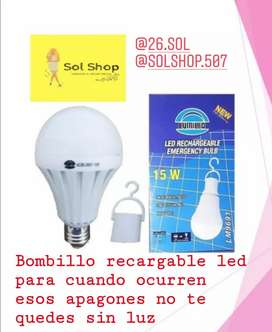 Bombillo led y bombillo multicolor
