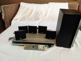 home thearte lg LH-T3602SE 50W con 5 mini parlantes 4ohm 90W LHS 36SES parlante LHS-36SEW 8ohm 150W (18)