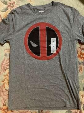Camiseta deadpool marvel talla S