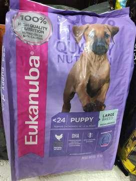 Eukanuba Large Puppy 15 Kg O F E R T A LIMITADA