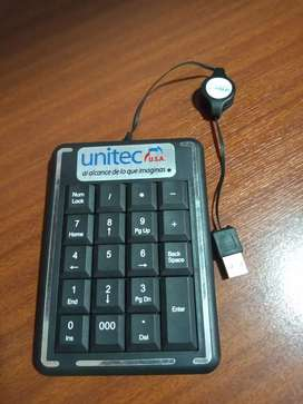 Teclado numérico USB