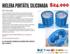 Hielera portátil siliconada. Envío gratis