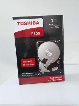 Disco Duro 1tb Toshiba P300 Interno Sata Pc 7200 Rpm 64mb