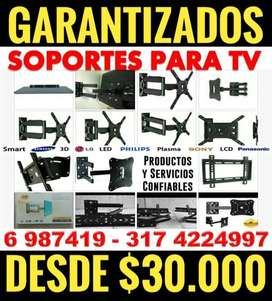 Bases d' TV's soporte ecualizable a muro