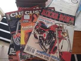 Colección de Revistas Biker Zone