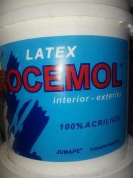 Rocemol pintura Latex Interior Exterior Blanco