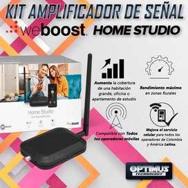 KIT Amplificador De Señal Celular Weboost Home Studio (530166) Repetidor Redes 4GLTE y 5G