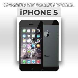 ¡Cambio de Vidrio Táctil Iphone 5!