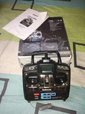 Control remoto - radio control Para Aeromodelismo RadioLink T7F