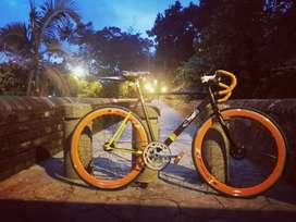 Bicicleta piñón fijo