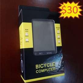 Velocímetro bicicleta computadora multifunción inalámbrica