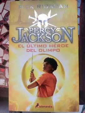 El Último Héroe del Olimpo Percy Jackson
