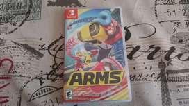 Videojuego arms 2 para Nintendo switch ! ABIERTO PERO NO USADO!