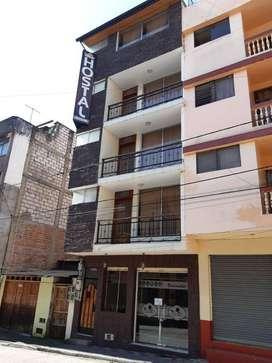 HOTEL DE ARRIENDO EN EL CENTRO DE BAÑOS DE AGUA SANTA